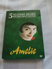 Amelie (Dvd, 2002, 2-Disc Set, Special Edition) Free Shipping