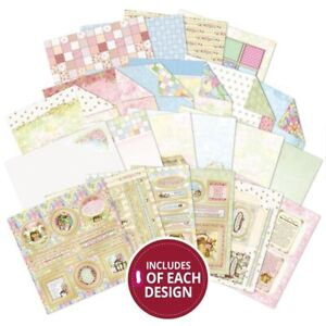 """22 Foiled Sheets 8"""" x 8"""" Tales from the Patchwork Forest Craft Theme NEW"""