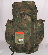 RIO GRANDE Marines USMC MARPAT Woodland Camo 45 LTR Feed from top Backpack  Pack