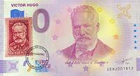 BILLET 0  EURO  VICTOR HUGO AVEC TIMBRE  2020 Numero 1813 a 1850 au choix