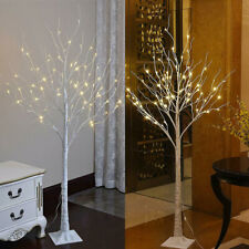 55 LED Birch Twig Tree Warm White Lamp Home Party Wedding Christmas Branch Light