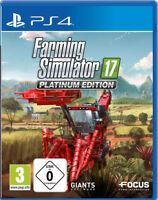 PS4 Landwirtschafts-Simulator 17 2017 Platinum Edition NEU&OVP Paketversand