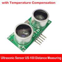 Ultrasonic US-100 Sensor Distance Measuring Module with Temperature Compensation