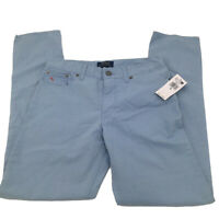 Polo Ralph Lauren Youth Boys Flat Front Pants Choose Size Blue