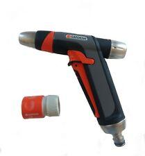Gardena Premium Stainless Steel 2 in 1 Spray water Gun Nozzle 9917M garden