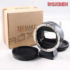 Techart Auto Focus III Canon EOS Lens to Sony NEX E Mount Adapter A7 II A7R A7S