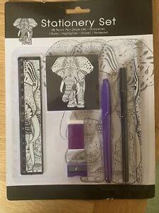 Stationery Elephant Set
