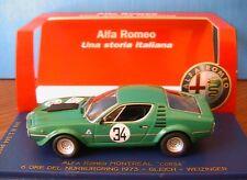 ALFA ROMEO MONTREAL CORSA #34 6 ORE DEL NURBURGRING 1973 GLEICH WEIZINGER M4 708