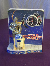 Vintage Star Wars Droid Clock