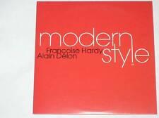 CD PROMO / FRANCOISE HARDY ET ALAIN DELON / MODERN STYLE / TRES BON ETAT