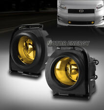08 09 10 SCION XB BUMPER FOG LIGHTS YELLOW W/HARNESS+SWITCH LEFT+RIGHT PAIR SET
