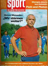 Sport Illustrierte 18/1971  Hennes Weisweiler Udo Lattek Formel 1 Jochen Rindt
