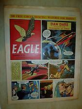 Eagle Comic Vol 5 no 50: Dan Dare- A Supersonic Jet Bomber of Tomorrow - 7th Dec