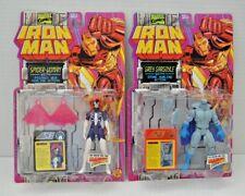 IRON MAN - SPIDERWOMAN GARGOYLE Collection Vintage Figures Toy Biz 1994 Marvel