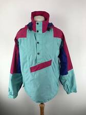 THE North Face USA 90s Da Uomo Gore Tex Giacca A Vento Giacca Medio M Aqua Blue Vintage