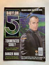 Babylon 5 The Official Monthly Magazine June 1998 No 9 Jerry Doyle Garibaldi