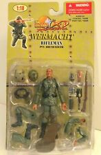 1:18 Ultimate Soldier WWII German Wermacht Rifleman Bruno Bauer Action Figure