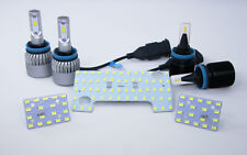 LED Headlights Fog Spot Interior Lights Package for Holden RA Rodeo MY07-MY08