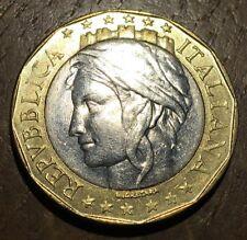 PIECE DE 1000 LIRES ITALIE 1997 (242) BI-METALLIQUE