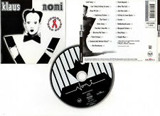 "KLAUS NOMI ""Cold Song"" (CD) Essential, 20 Titres 1994"