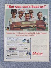 VINTAGE 1967 DAISY AIR RIFLE JAYCEES CHAMPION ADVERTISEMENT