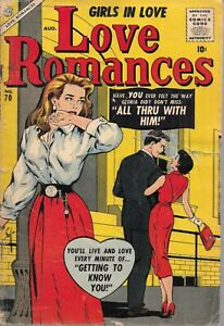 Love Romances 70 (1957) Mid Grade