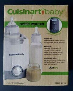 Cuisinart Baby Bottle Warmer Nightlight Glass Plastic Brand NEW Model BW-10