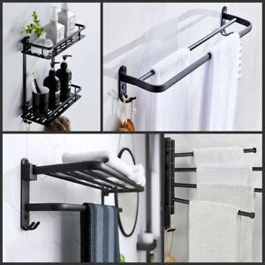 8-teiliges Set Badaccessoires Badzubehör Handtuchhalter WC Bürste Handtuchhaken