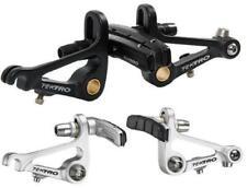 Freni cantilever neri anteriore e posteriore per biciclette