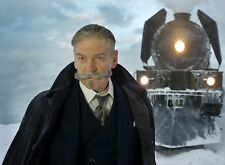 PHOTO  LE CRIME DE L'ORIENT-EXPRESS  KENNETH BRANAGH (P1) FORMAT 20X27 CM