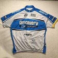 New listing Nike Dri-Fit Trek Discovery Channel Cycling Jersey Bib Men's Size XXL