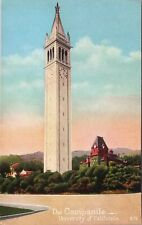 Vintage PNC postcard, The Sather Campanile, University of California