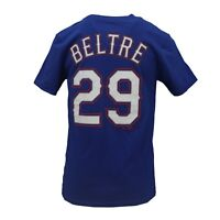 Texas Rangers MLB Majestic Kids Youth Size Adrian Beltre T-Shirt New with Tags