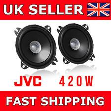 "JVC 10 cm 4"" altavoces Barato Cono Doble 420 W potencia total CS-J410X altavoces de puerta de coche"