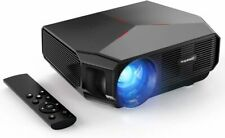 COOAU 4K LED Projektor Heimkino Beamer 1080P Halterung TV Spiel HDMI Video5500LM