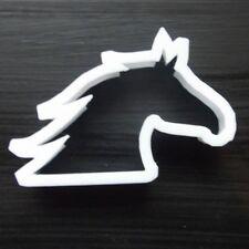 Forma della Testa Cavalli Cookie Cutter Biscotto Pasticceria FONDENTE Stencil Animali