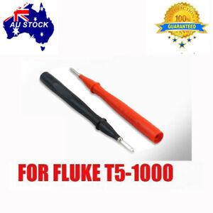 1Slim Reach Test lead For Fluke T5-1000 multimeter stainless steel TP1 Probes AU