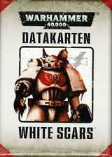 WHITE SCARS data carte (tedesco) Games Workshop Warhammer 40.000 Space Marine del