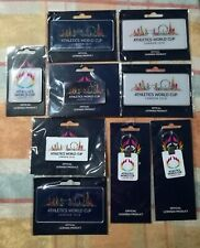 Athletics world cup London 2018 lot of 9 - 2 key chains, 2 pins, 5 magnets