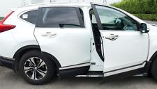 6 Pcs Stainless Steel Side Body Molding Trim Cover For Honda CRV 2017-2018