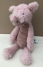 """Retired Jellycat Wurly Pig Large 16"""" Plush Soft Toy"""
