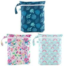 Bumkins Reusable Waterproof Wet/Dry Bag-Diapers, Gym Clothes, Swim Suits 306544