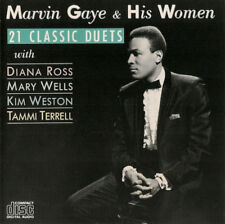 Marvin Gaye & His Women: 21 Classic Duets Motown CD 1987-zd72397