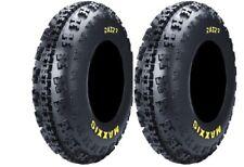 Raptor 350 Maxxis 22X7-10 Razr2 Razor On Off Road Tyre Street ATV Quad 6Ply Fron