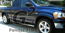 FITS DODGE RAM 1500 2002-2008 G2 BLACK FENDER FLARES 4PCS