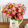 28 Heads Artificial Fake Silk Daisy Flower Bouquet Home Party Wedding Decoration