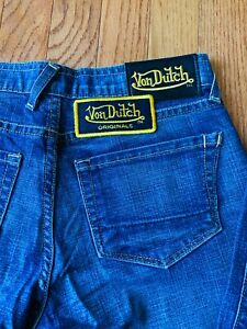 Women's Authentic Von Dutch Vintage Signature jeans