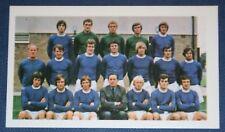 EVERTON  FC  Original 1971 Colour Team Photo Card # VGC