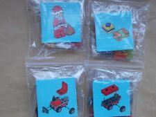 NEW LEGO CITY CHRISTMAS SCENE SANTA'S PRESENT TRAIN RED TRAIN & TRUCK PRESENTS A