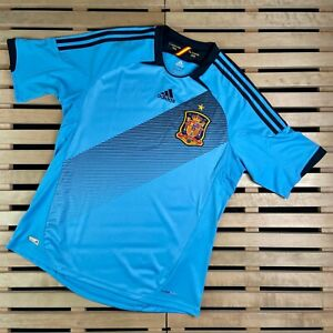 Mens Football Shirt Spain 2012/2013 Size L Jersey Espana Adidas